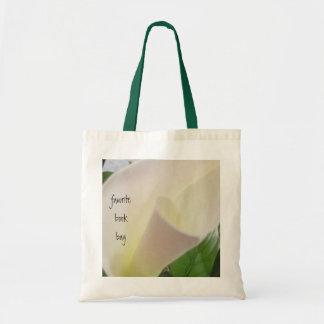 Single Calla Lily Book Bag