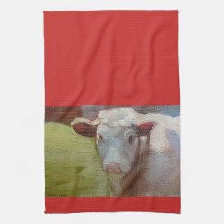 Single Cow Kitchen Towel