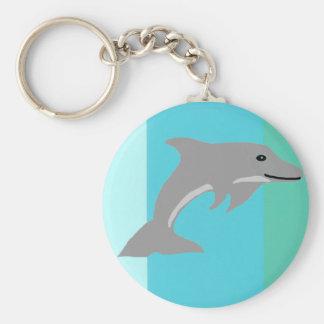 Single Dolphin key chain