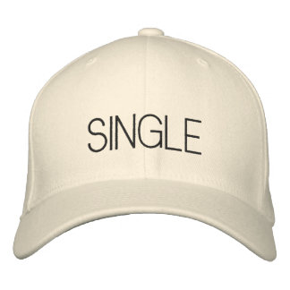 Single Embroidered Hat