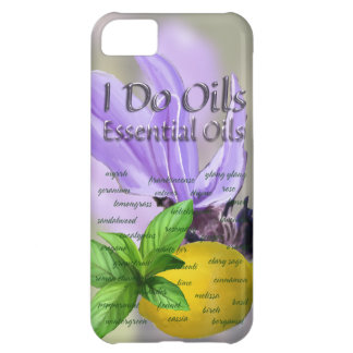 Single Essential Oils Cover For iPhone 5C
