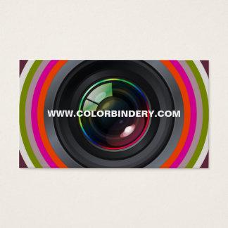 Single Eye Position 1 Business Card
