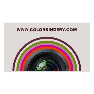 Single Eye Position 2 Business Card