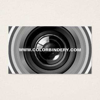 Single Eye Position 5 Business Card