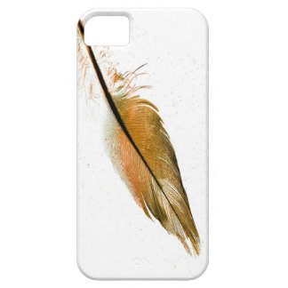 single feather iphone5 cover elegant photo art