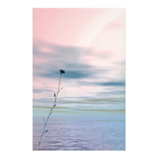 Single Flower ~Sationery~ Stationery