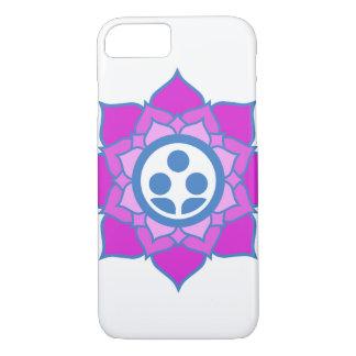 Single Flower Zen Center Logo iPhone 8/7 Case