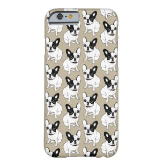 Single Hooded Brindle Pied Frenchie Barely There iPhone 6 Case