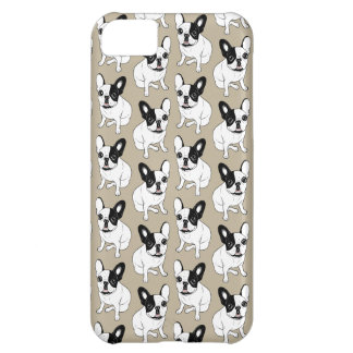 Single Hooded Brindle Pied Frenchie iPhone 5C Covers