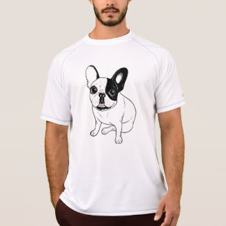 Single Hooded Brindle Pied Frenchie T-Shirt
