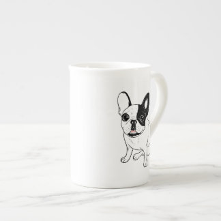 Single Hooded Brindle Pied Frenchie Tea Cup