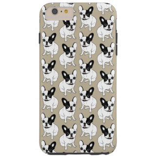 Single Hooded Brindle Pied Frenchie Tough iPhone 6 Plus Case