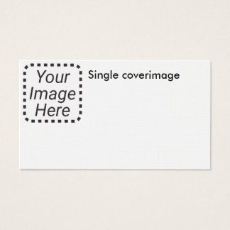 Single Image On Linen Business Card