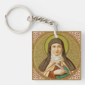 Single Image St. Teresa of Avila (SNV 27) Keychain