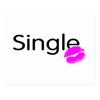 Single (Kiss) Post Card