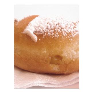 Single Krapfen ( italian doughnut ) Letterhead