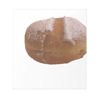 Single Krapfen ( italian doughnut ) Notepad