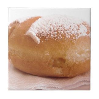 Single Krapfen ( italian doughnut ) Tile