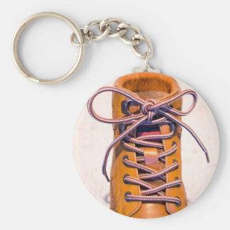 Single male shoe keychain