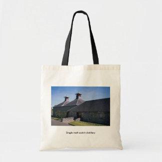 Single malt scotch distillery canvas bags