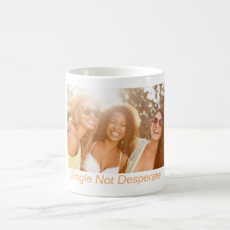 Single Not Desperate Gift Mug