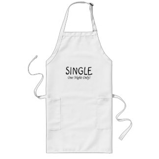Single One Night Only Long Apron