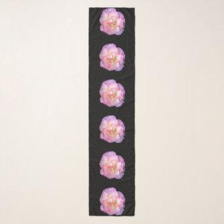 Single Pastel Rose Chiffon Scarf