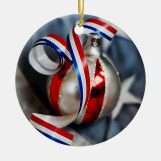 Single Patriotic Ornament