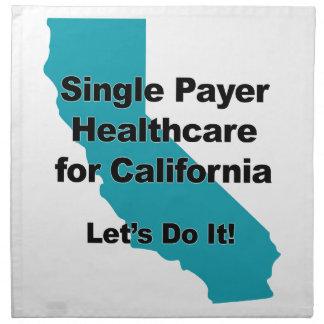 Single Payer Healthcare for California Napkin
