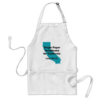 Single Payer Healthcare for California Standard Apron