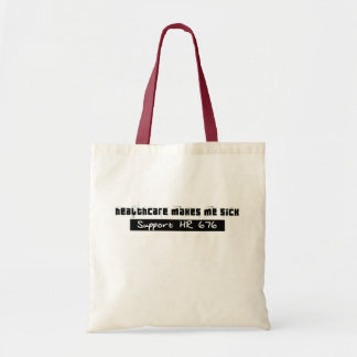 Single-payer healthcare HR 676 (donation made) Tote Bag