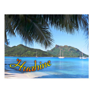 Single postcard of Huahine, the Expectant mother