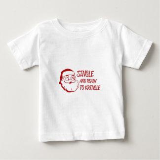 Single & Ready To Kringle Baby T-Shirt