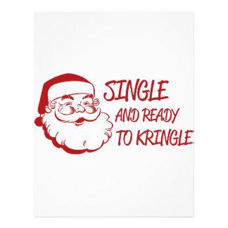 Single & Ready To Kringle Letterhead Template