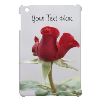 Single Red Rose Case For The iPad Mini