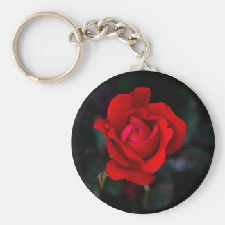 Single Red Rose... Keychain