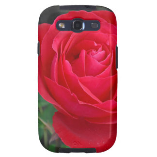 Single red rose samsung galaxy SIII case