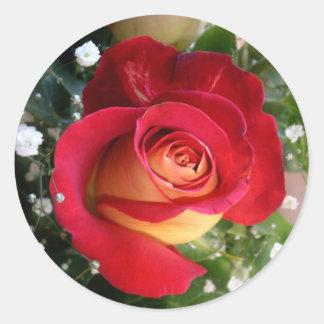 Single Rose Sticker