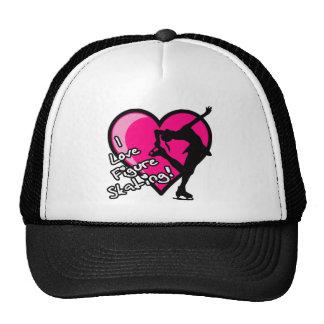 Single Skater, Hot Pink & Black Trucker Hat