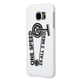 Single Speed Fixed Gear Bicycle Samsung Galaxy S6 Cases