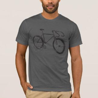 Single Speed/Fixed Gear Bike Design T-Shirt