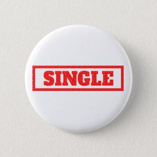 Single Stamp 2 Inch Round Button