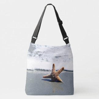 Single Starfish Washed Ashore Crossbody Bag