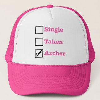 Single, Taken - ARCHER Trucker Hat