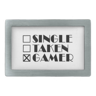 Single Taken or Gamer Belt Buckle