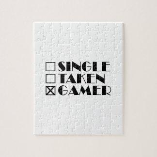 Single Taken or Gamer Jigsaw Puzzle