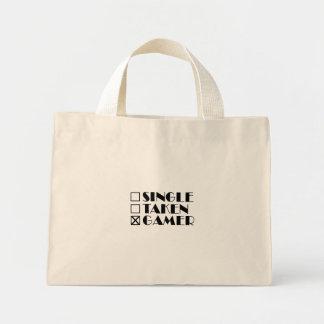 Single Taken or Gamer Mini Tote Bag
