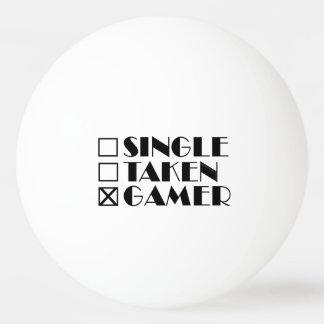 Single Taken or Gamer Ping Pong Ball