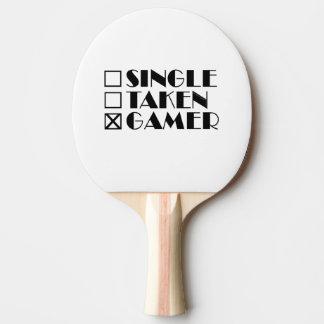 Single Taken or Gamer Ping Pong Paddle