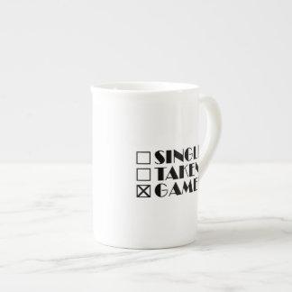 Single Taken or Gamer Tea Cup